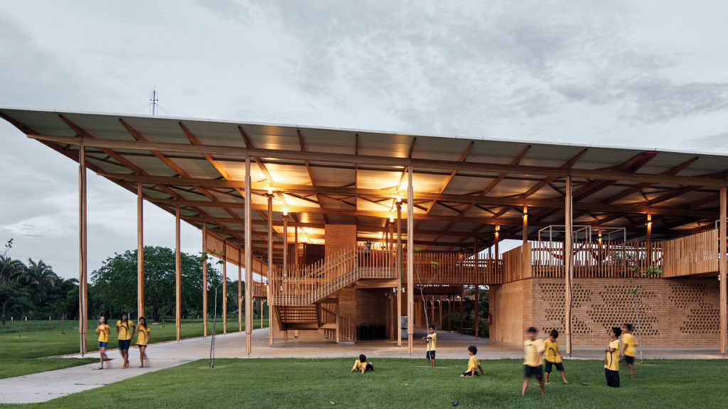 Children Village by Aleph Zero. Winner of the RIBA International Prize 2018 © Cristobal Palma