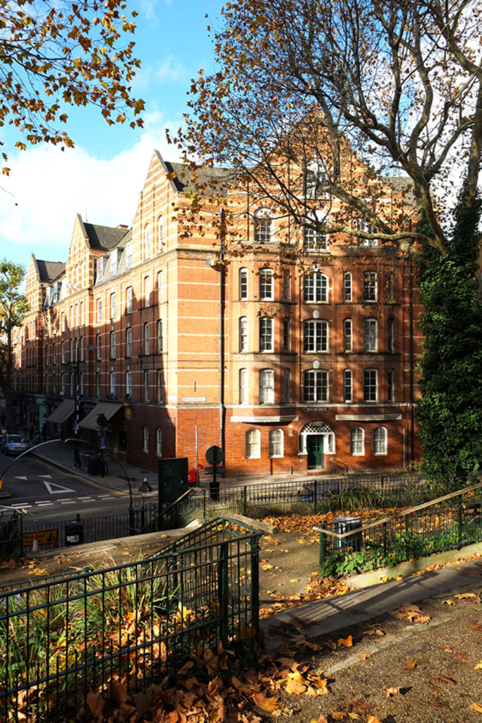 The Boundary Estate, in London's Shoreditch, completed in 1900, is the country's first social housing scheme. Marlow House ©Michelle Mason