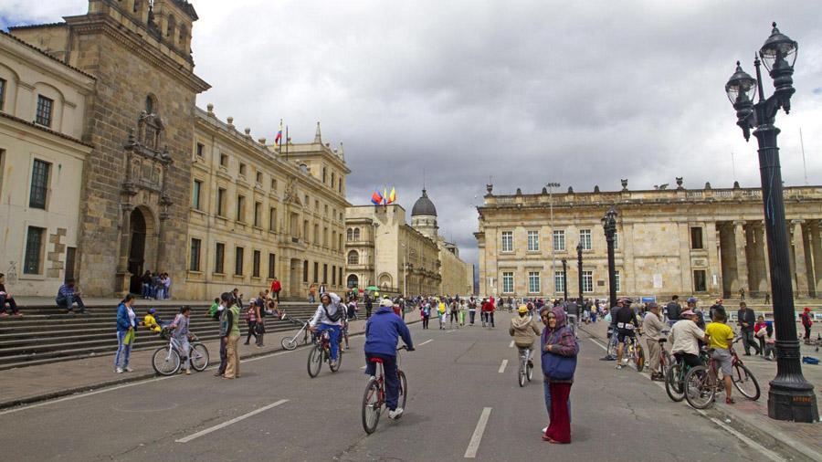 Plaza de Bolivar Source-bbc.com