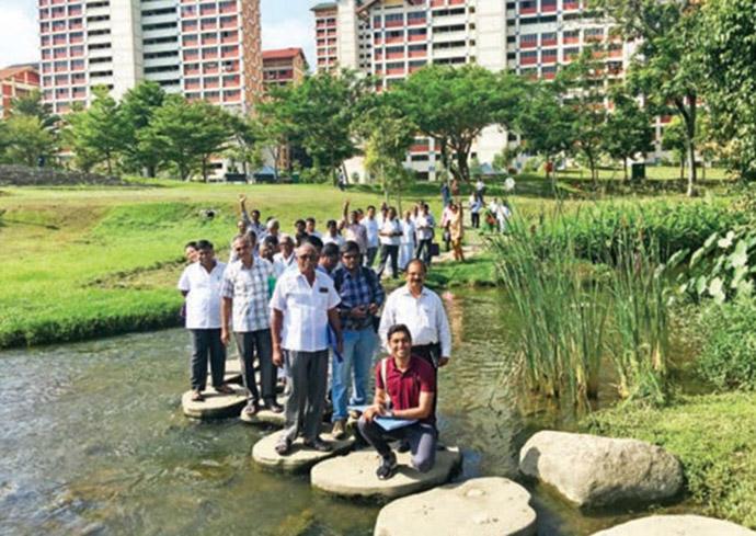 Amaravati area farmers touring Singapore_Source-APCRDA
