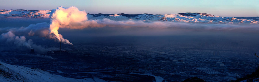 High air pollution in Ulaanbaatar_Photo by Jargalsaikhan Dorjnamjil_Source-Flickr Creative Commons