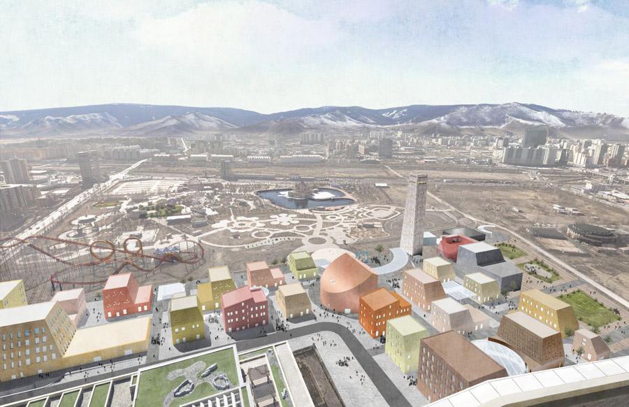Rendering of Ulaanbaatar Village_Source-PAU
