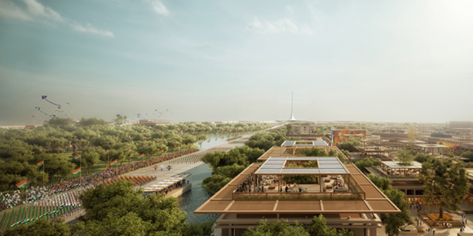 Amaravati Master Plan_Source-Foster and Partners
