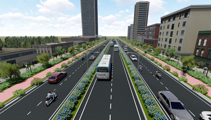 Proposed transportation corridors_Source-APCRDA