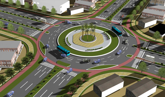 Proposed roundabout_Source-APCRDA