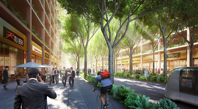 City street_Source-Foster and Partners