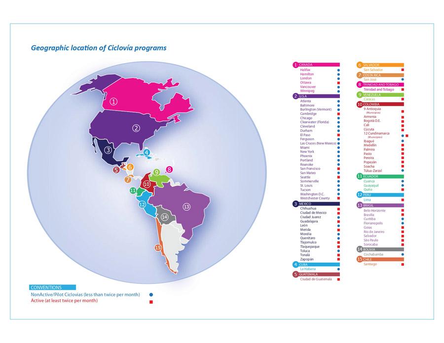 Map of Ciclovia type programs in the Americas_Source-httpscicloviarecreativa.uniandes.edu.co