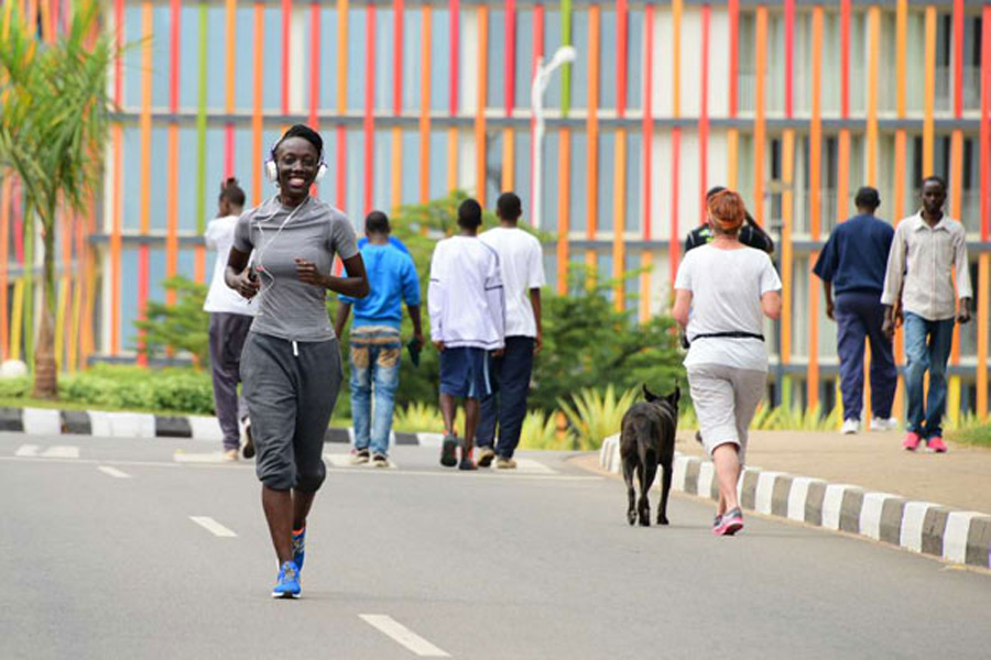 Kigali resident jogging_Photo by-Cyril Ndegeya_Source-httprwandatoday.africa