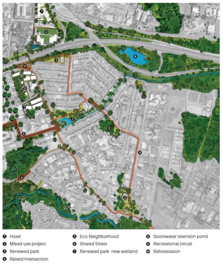 Example of master planned neighbourhood_Source-Tandem Arquitectos
