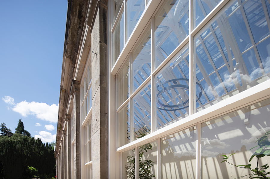 The Ingestre Orangery, architect PCPT, Lighting Delta Light