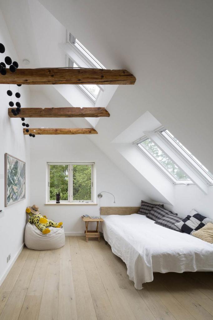 VELUX top hung windows in loft conversion