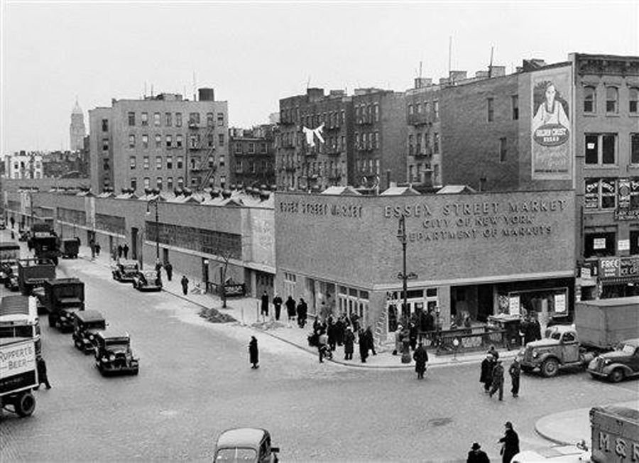 The old Essex Street Market in 1940_Source-facebook.com