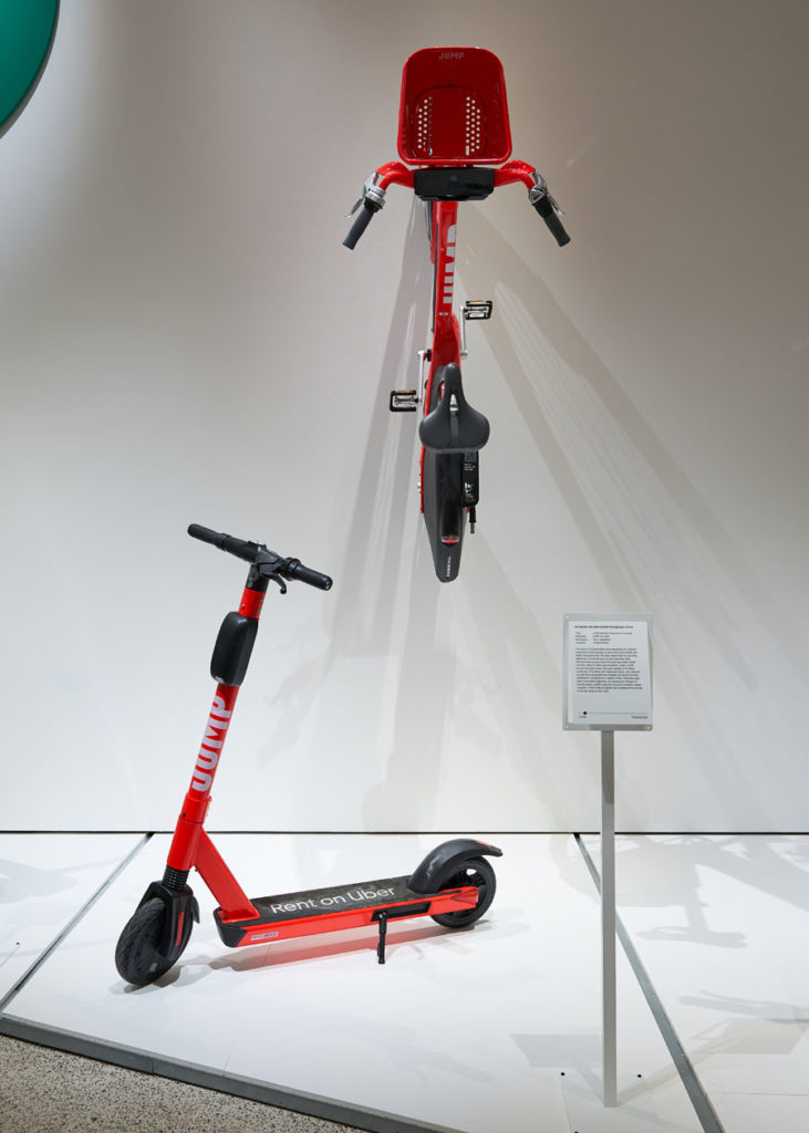 JUMP electric bicycle and scooter by Uber