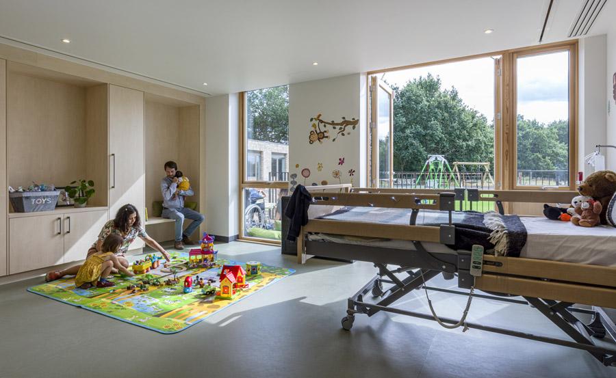 Noahs Ark Children's Hospice Squire & Partners. Photo ©Gareth Gardner