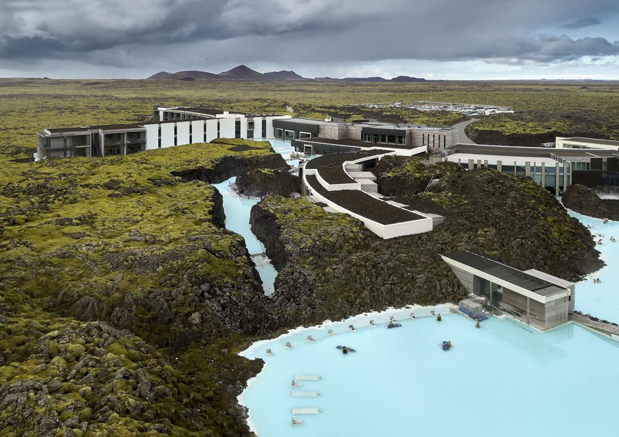Architectural Design Of The Year: The Retreat at the Blue Lagoon Iceland by Basalt Architects.