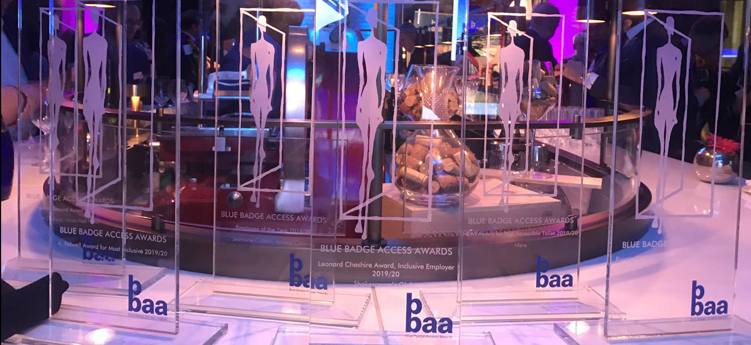 Featured Blue Badge Access Awards 2019