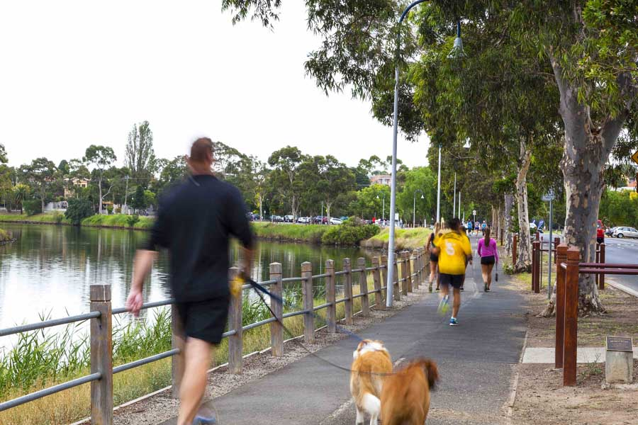 The Boulevard by Maribyrnong River Source-Moonee Valley