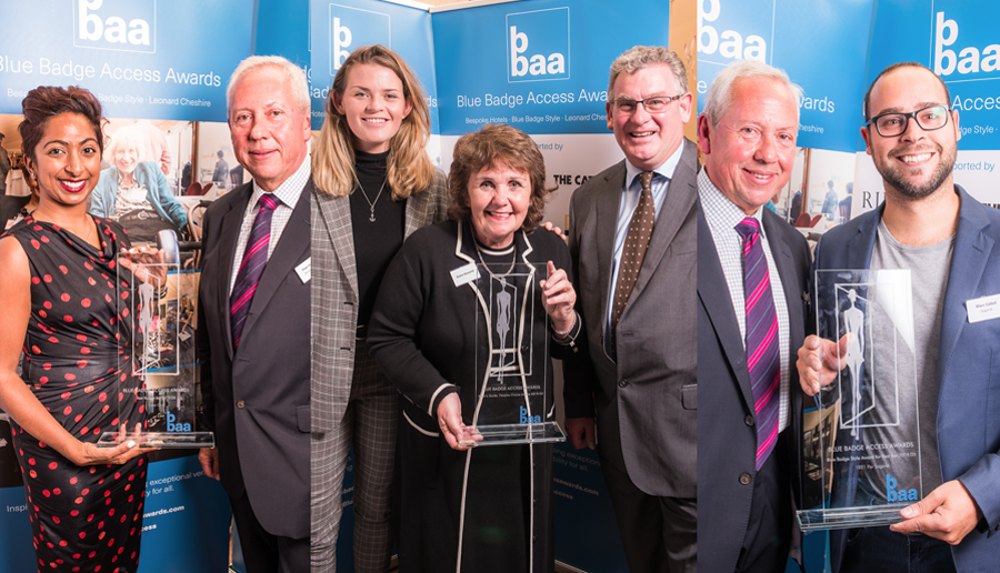 From Left: Caya Club win Best Budget Bar. Cottages in the Dales win Euan's People's Choice Award., 1881 Per Sagardi Barcelona win Best Upmarket Bar