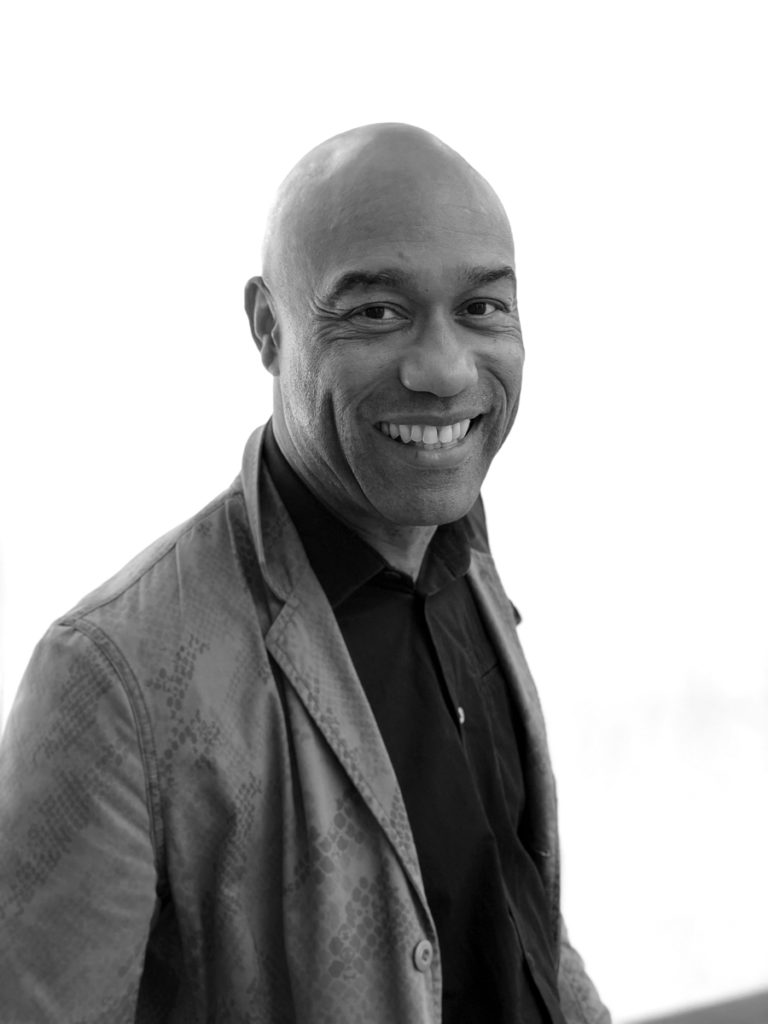 Gus Casely-Hayford, V&A East Director. Photo ©Catie Anchin