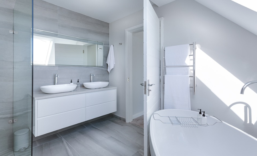 Create a Clean Stylish Bathroom