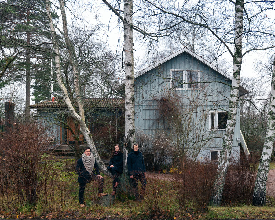 Helsinki_curators Philip Tidwell ,Laura Berger, Kristo Vesikansa. Photo Juuso Westerlund ©ArchinfoFinland