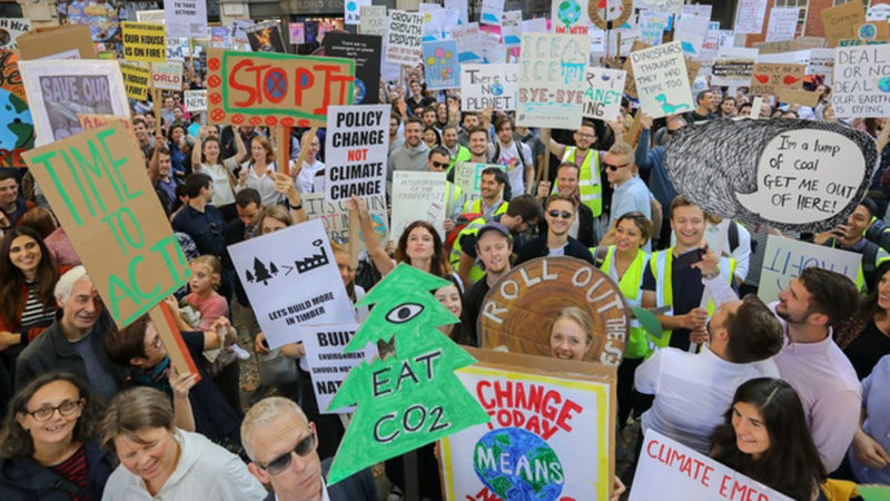 Climate Protests, September 2019 ©UKGBC