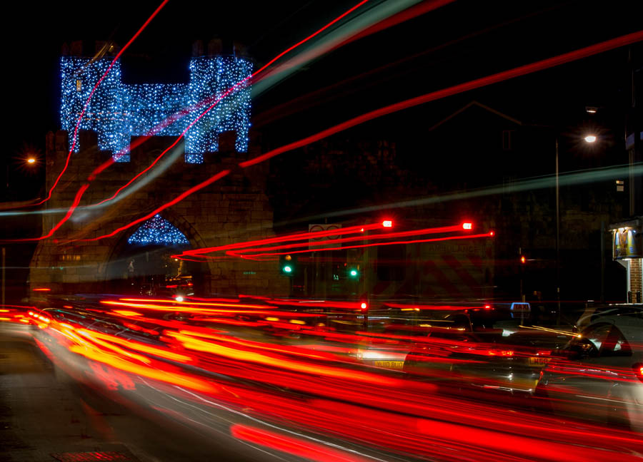 York ,UK, York Christmas Lights. Photo ©Charlotte Graham.