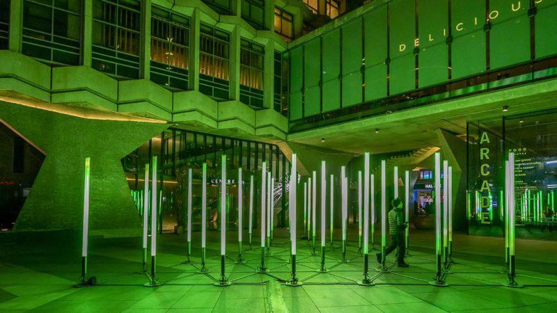 installation by Danish art collective Vertigo: Echelon