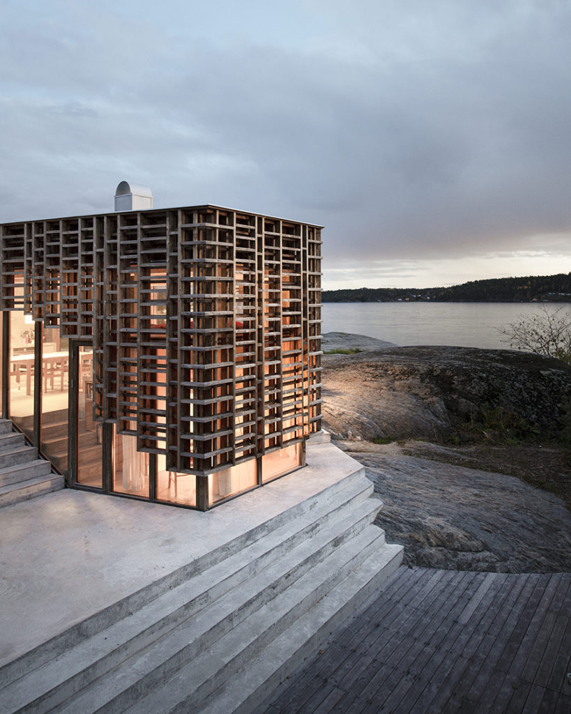 Housing Exterior winner: House on an Island, Atelier Oslo & Kebony, Norway. Photo ©Ivar Kvaal