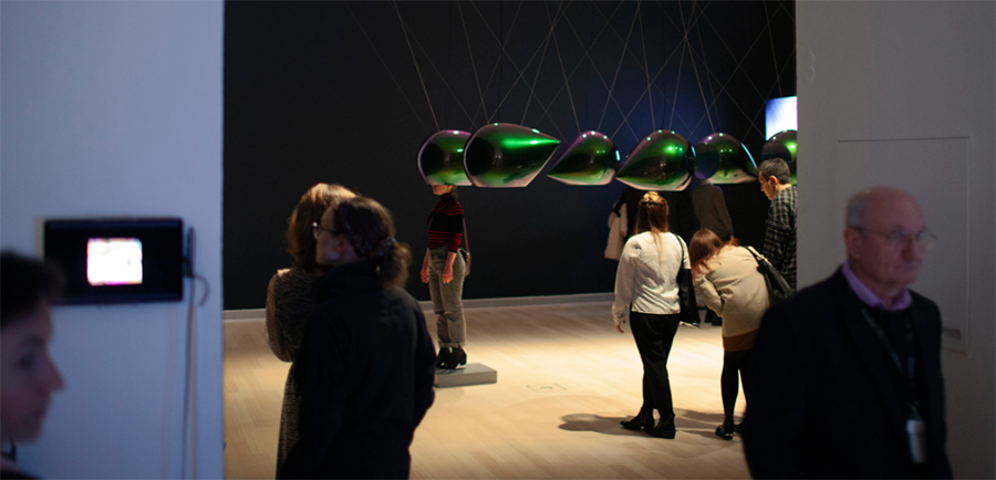 Semiosphere Installation, Ludwig Museum Budapest 2020 Photo ©Andrew Friend