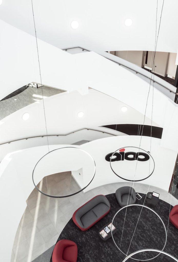 AICO Headquarters, Oswestry, Shropshire by DGA Architects. Photo ©RichardStonehouse