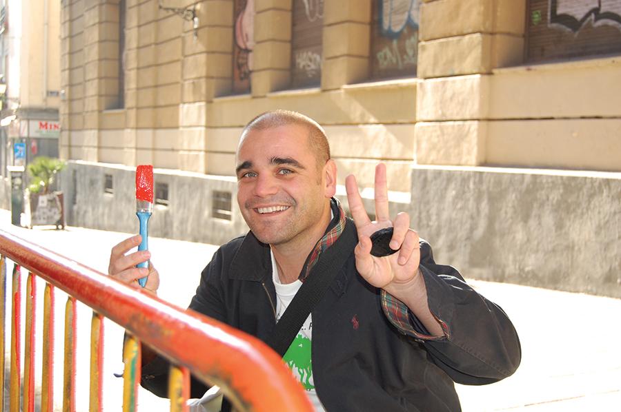 Santiago Cirugeda, founder of Recetas Urbanas. Photo  ©Recetas Urbanas
