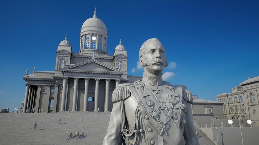 Making of Virtual Helsinki