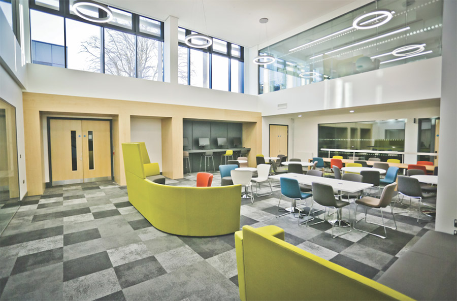 Interface's Concept Design team worked closely with the staff at Oxford Brookes to create multi-functional spaces