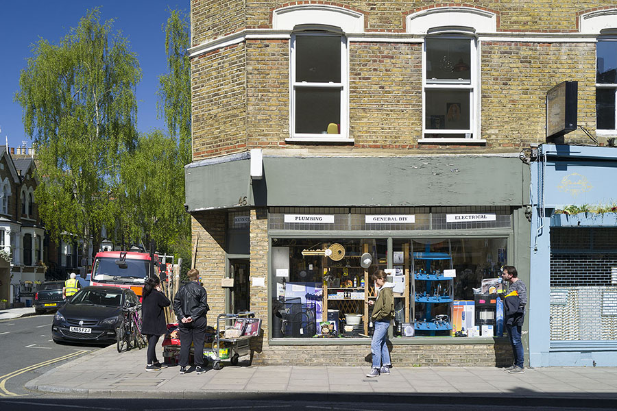 Stoke Newington High St Photo ©Agnese Sanvito