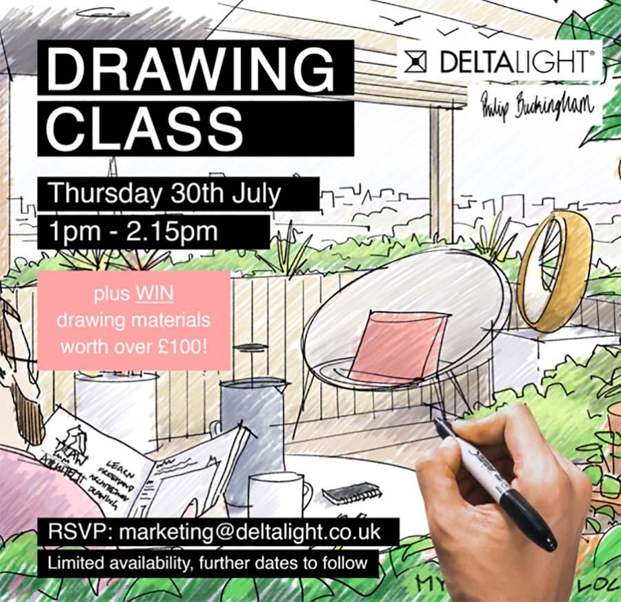 Delta Light Drawing Class