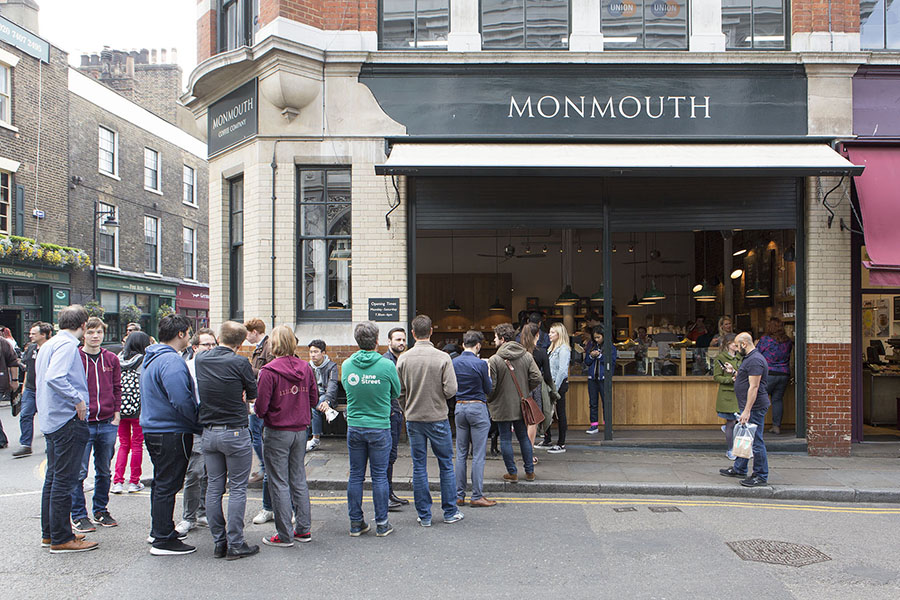 Monmouth Coffee, Photo ©Agnese Sanvito