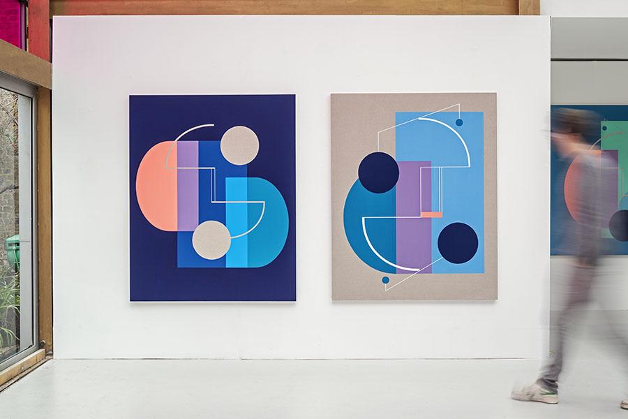 Modern Times - Sinta Tantra at Kristin Hjellegjerde gallery