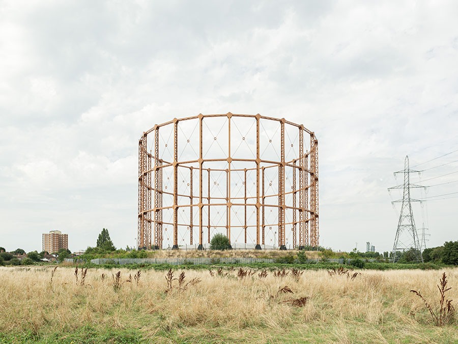 Leigh Road Gas Holder, Ruin-or-Rust Photo ©Francesco-Russo