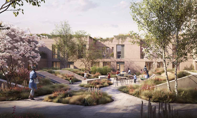 CLTH Morlands Gardens Courtyard