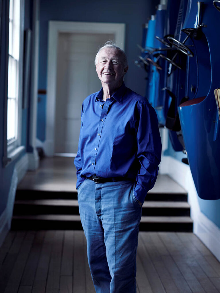 Sir Terence Conran. Photo ©The Design Museum